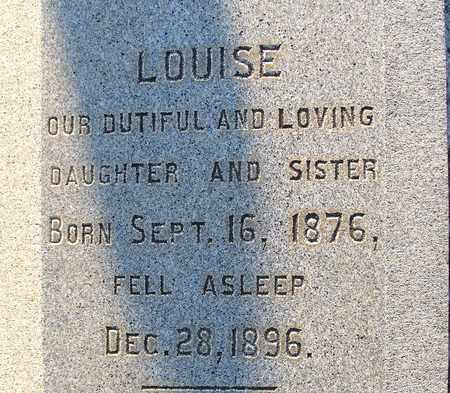 STUBBS, LOUISE (CLOSE UP) - Ouachita County, Louisiana | LOUISE (CLOSE UP) STUBBS - Louisiana Gravestone Photos