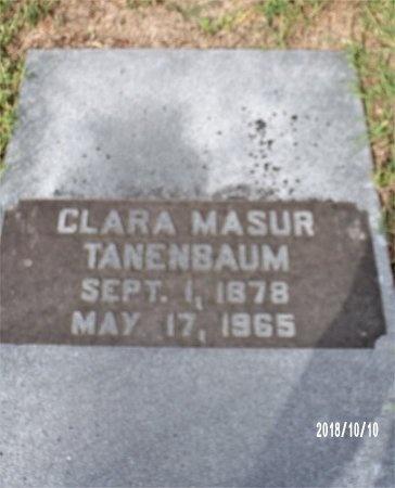 MASUR TANENBAUM, CLARA - Ouachita County, Louisiana | CLARA MASUR TANENBAUM - Louisiana Gravestone Photos
