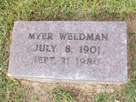 WELDMAN, MYER - Ouachita County, Louisiana | MYER WELDMAN - Louisiana Gravestone Photos