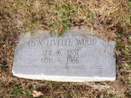 WOOD, LEON LEVELLE - Ouachita County, Louisiana | LEON LEVELLE WOOD - Louisiana Gravestone Photos