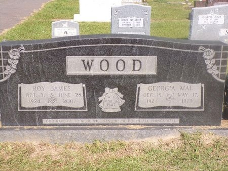 WOOD, ROY JAMES - Ouachita County, Louisiana   ROY JAMES WOOD - Louisiana Gravestone Photos