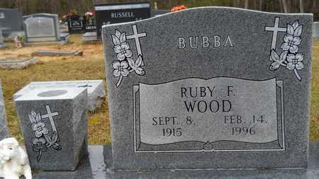 """WOOD, RUBY  """"BUBBA"""" - Ouachita County, Louisiana   RUBY  """"BUBBA"""" WOOD - Louisiana Gravestone Photos"""