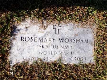 WORSHAM  , ROSEMARY (VETERAN WWII) - Ouachita County, Louisiana | ROSEMARY (VETERAN WWII) WORSHAM   - Louisiana Gravestone Photos