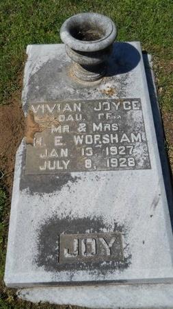 WORSHAM, VIVIAN JOYCE - Ouachita County, Louisiana | VIVIAN JOYCE WORSHAM - Louisiana Gravestone Photos