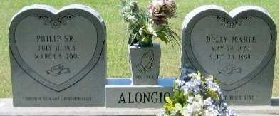 ALONGIO, DOLLY MARIE - Pointe Coupee County, Louisiana   DOLLY MARIE ALONGIO - Louisiana Gravestone Photos