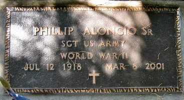 ALONGIO, PHILIP, SR (VETERAN WWII) - Pointe Coupee County, Louisiana | PHILIP, SR (VETERAN WWII) ALONGIO - Louisiana Gravestone Photos