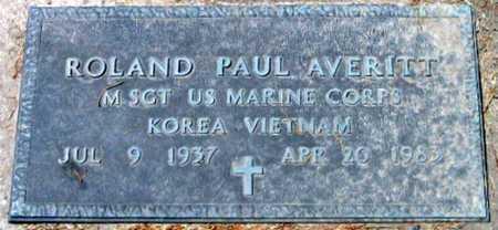 AVERITT, ROLAND PAUL (VETETRAN 2 WARS) - Pointe Coupee County, Louisiana   ROLAND PAUL (VETETRAN 2 WARS) AVERITT - Louisiana Gravestone Photos