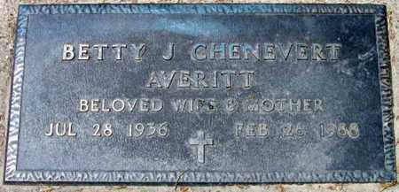 AVERITT, BETTY JEAN - Pointe Coupee County, Louisiana   BETTY JEAN AVERITT - Louisiana Gravestone Photos