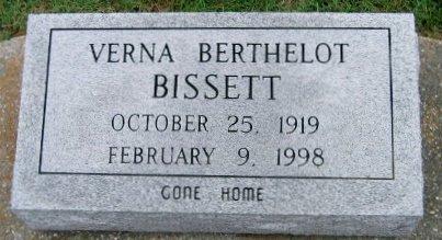 BERTHELOT BISSETT, VERNA - Pointe Coupee County, Louisiana | VERNA BERTHELOT BISSETT - Louisiana Gravestone Photos