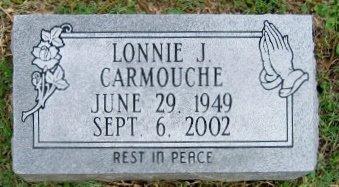 CARMOUCHE, LONNIE J - Pointe Coupee County, Louisiana   LONNIE J CARMOUCHE - Louisiana Gravestone Photos