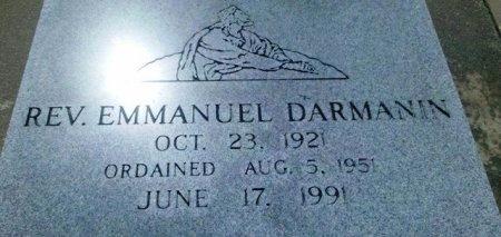DARMANIN, EMMANUEL, REV - Pointe Coupee County, Louisiana   EMMANUEL, REV DARMANIN - Louisiana Gravestone Photos