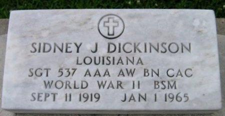 DICKINSON, SIDNEY J  (VETERAN WWII) - Pointe Coupee County, Louisiana | SIDNEY J  (VETERAN WWII) DICKINSON - Louisiana Gravestone Photos