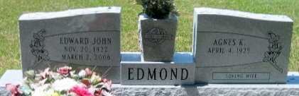 EDMOND, EDWARD JOHN - Pointe Coupee County, Louisiana | EDWARD JOHN EDMOND - Louisiana Gravestone Photos