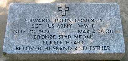 EDMOND, EDWARD JOHN (VETERAN WWII) - Pointe Coupee County, Louisiana   EDWARD JOHN (VETERAN WWII) EDMOND - Louisiana Gravestone Photos