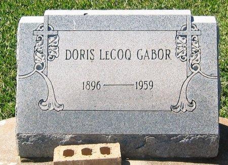 GABOR, DORIS - Pointe Coupee County, Louisiana | DORIS GABOR - Louisiana Gravestone Photos