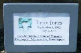 JONES, LYNN NOFLETT  (VETERAN KOR) - Pointe Coupee County, Louisiana | LYNN NOFLETT  (VETERAN KOR) JONES - Louisiana Gravestone Photos