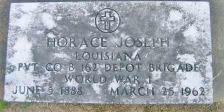 JOSEPH, HORACE  (VETERAN WWI) - Pointe Coupee County, Louisiana | HORACE  (VETERAN WWI) JOSEPH - Louisiana Gravestone Photos