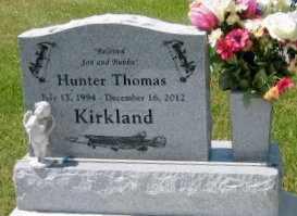 "KIRKLAND, HUNTER THOMAS ""BUBBA"" - Pointe Coupee County, Louisiana | HUNTER THOMAS ""BUBBA"" KIRKLAND - Louisiana Gravestone Photos"
