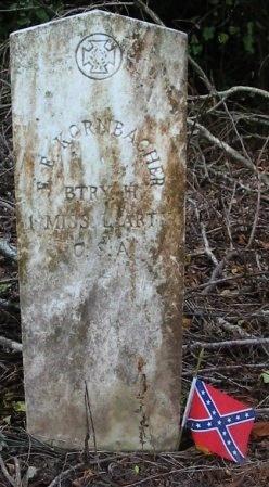 KORNBACHER, EDWARD EMILE  (VETERAN CSA) - Pointe Coupee County, Louisiana | EDWARD EMILE  (VETERAN CSA) KORNBACHER - Louisiana Gravestone Photos
