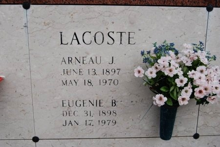 LACOSTE, EUGENIE MARY - Pointe Coupee County, Louisiana | EUGENIE MARY LACOSTE - Louisiana Gravestone Photos