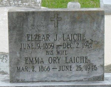 LAICHE, EMMA - Pointe Coupee County, Louisiana | EMMA LAICHE - Louisiana Gravestone Photos