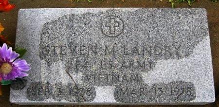 LANDRY, STEVEN M  (VETERAN VIET) - Pointe Coupee County, Louisiana   STEVEN M  (VETERAN VIET) LANDRY - Louisiana Gravestone Photos