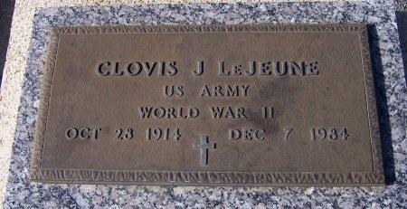 LEJEUNE, CLOVIS J  (VETERAN WWII) - Pointe Coupee County, Louisiana | CLOVIS J  (VETERAN WWII) LEJEUNE - Louisiana Gravestone Photos
