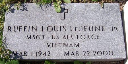 LEJEUNE, RUFFIN LOUIS, JR  (VETERAN VIET) - Pointe Coupee County, Louisiana | RUFFIN LOUIS, JR  (VETERAN VIET) LEJEUNE - Louisiana Gravestone Photos