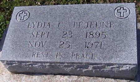 COMEAUX LEJEUNE, LYDIA - Pointe Coupee County, Louisiana   LYDIA COMEAUX LEJEUNE - Louisiana Gravestone Photos