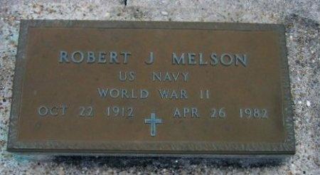 MELSON, ROBERT J  (VETERAN WWII) - Pointe Coupee County, Louisiana | ROBERT J  (VETERAN WWII) MELSON - Louisiana Gravestone Photos
