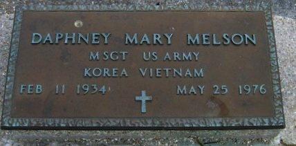 MELSON, DAPHNEY MARY  (VETERAN 2 WARS) - Pointe Coupee County, Louisiana | DAPHNEY MARY  (VETERAN 2 WARS) MELSON - Louisiana Gravestone Photos