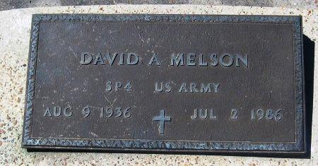 MELSON, DAVID A  (VETERAN) - Pointe Coupee County, Louisiana | DAVID A  (VETERAN) MELSON - Louisiana Gravestone Photos