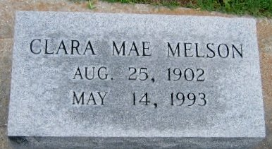 MELSON, CLARA MAE - Pointe Coupee County, Louisiana | CLARA MAE MELSON - Louisiana Gravestone Photos
