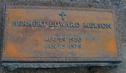 MELSON, HERBERT EDWARD - Pointe Coupee County, Louisiana | HERBERT EDWARD MELSON - Louisiana Gravestone Photos