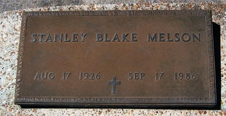 MELSON, STANLEY BLAKE - Pointe Coupee County, Louisiana | STANLEY BLAKE MELSON - Louisiana Gravestone Photos