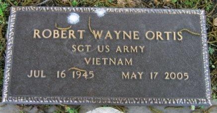 ORTIS, ROBERT WAYNE  (VETERAN VIET) - Pointe Coupee County, Louisiana   ROBERT WAYNE  (VETERAN VIET) ORTIS - Louisiana Gravestone Photos