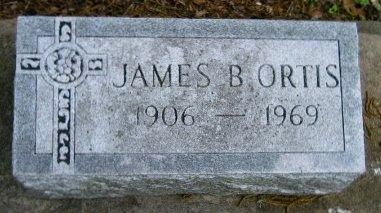 ORTIS, JAMES B - Pointe Coupee County, Louisiana | JAMES B ORTIS - Louisiana Gravestone Photos