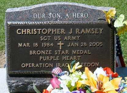RAMSEY, CHRISTOPHER J (VETERAN , KIA) - Pointe Coupee County, Louisiana | CHRISTOPHER J (VETERAN , KIA) RAMSEY - Louisiana Gravestone Photos
