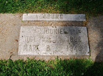 VOSBURG, SIDONIE  (CLOSEUP) - Pointe Coupee County, Louisiana | SIDONIE  (CLOSEUP) VOSBURG - Louisiana Gravestone Photos