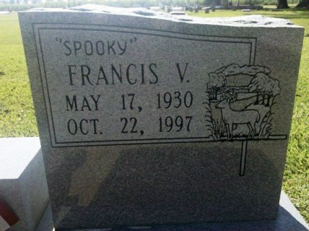 """WITTY, FRANCIS V """"SPOOKY"""" - Pointe Coupee County, Louisiana   FRANCIS V """"SPOOKY"""" WITTY - Louisiana Gravestone Photos"""
