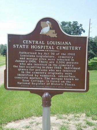 * SIGN,  - Rapides County, Louisiana |  * SIGN - Louisiana Gravestone Photos