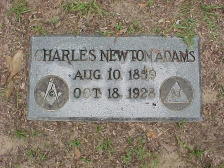 ADAMS, CHARLES NEWTON - Rapides County, Louisiana | CHARLES NEWTON ADAMS - Louisiana Gravestone Photos