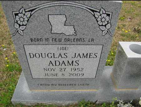 "ADAMS, DOUGLAS JAMES ""JOE"" - Rapides County, Louisiana | DOUGLAS JAMES ""JOE"" ADAMS - Louisiana Gravestone Photos"