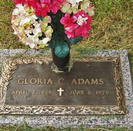 ADAMS, GLORIA C - Rapides County, Louisiana | GLORIA C ADAMS - Louisiana Gravestone Photos