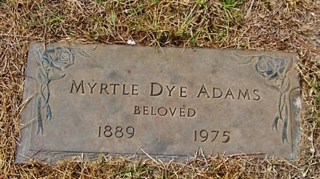 ADAMS, MYRTLE - Rapides County, Louisiana | MYRTLE ADAMS - Louisiana Gravestone Photos