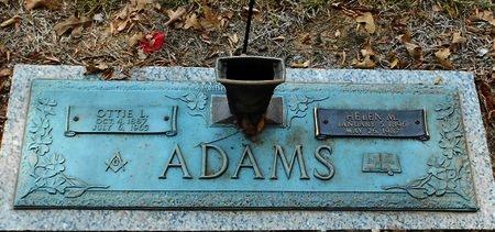 ADAMS, HELEN M - Rapides County, Louisiana | HELEN M ADAMS - Louisiana Gravestone Photos