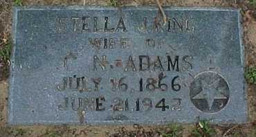 ADAMS, STELLA JANET - Rapides County, Louisiana   STELLA JANET ADAMS - Louisiana Gravestone Photos