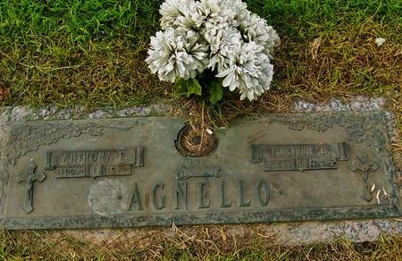 AGNELLO, LUDILLE J - Rapides County, Louisiana | LUDILLE J AGNELLO - Louisiana Gravestone Photos