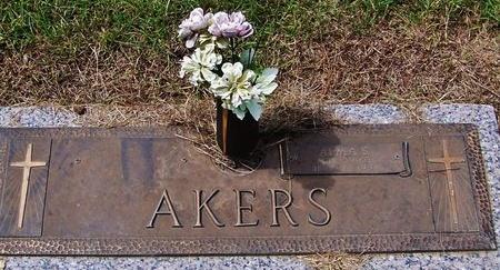 AKERS, ALMA S - Rapides County, Louisiana | ALMA S AKERS - Louisiana Gravestone Photos
