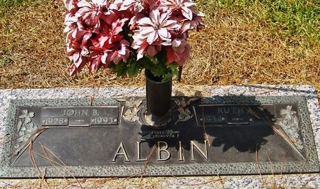 ALBIN, RUTH - Rapides County, Louisiana | RUTH ALBIN - Louisiana Gravestone Photos